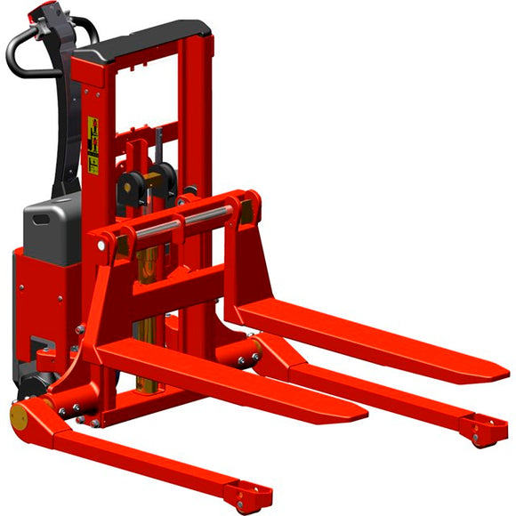 Interthor Logiflex LF Mini with Flex Carriage (Manual Lift/Manual Push) Capacity 2200 Lbs, Fork Over