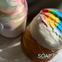 Load image into Gallery viewer, Limited Edition: PRIDE Whipped Soap & Bubble Scoop Combo