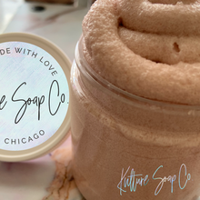 Load image into Gallery viewer, Rose Gold 8oz. Whipped Sugar Soap Scrub