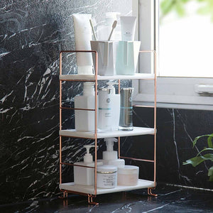 Luxe Bathroom Storage Rack
