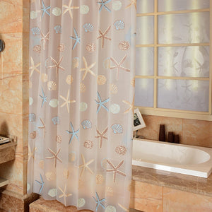 Rather B A Starfish Shower Curtain