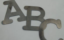Load image into Gallery viewer, Cut Metal Letters