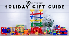 Embracing Free Play Time for Children: The Discovery Toys Holiday Gift Guide