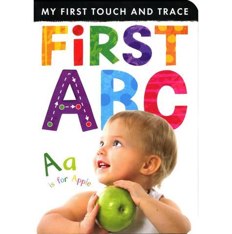 MY FIRST TOUCH & TRACE FIRST ABC - Discovery Toys