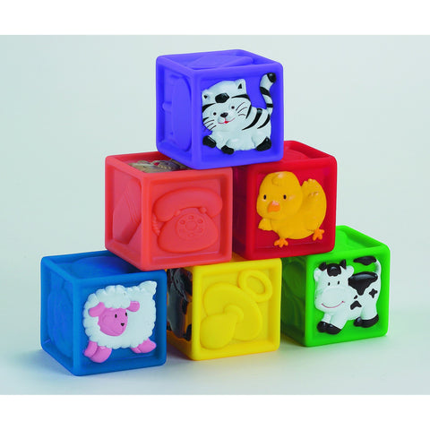 SQUEEZE-A-LOT BLOCKS - Discovery Toys