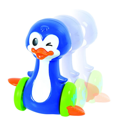 PRESS 'N SCOOT PENGUIN - Discovery Toys