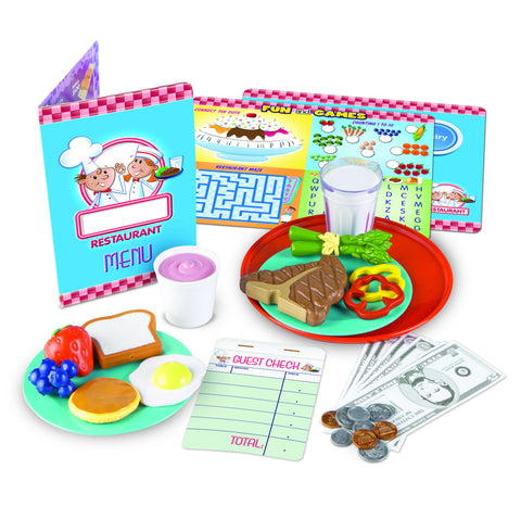 SERVE IT UP! PLAY RESTAURANT - Discovery Toys
