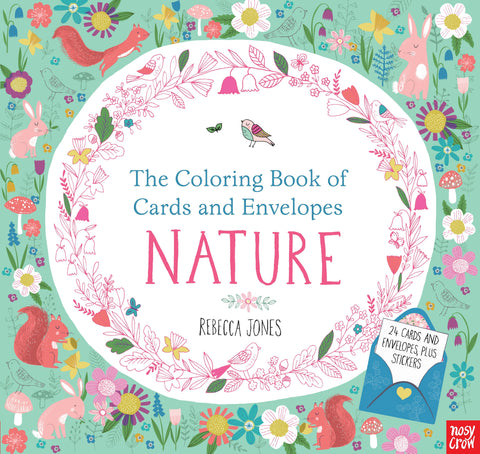 THE COLORING BOOK OF CARDS AND ENVELOPES - NATURE - Discovery Toys