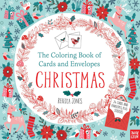 The Coloring Book of Cards and Envelopes Christmas - Discovery Toys