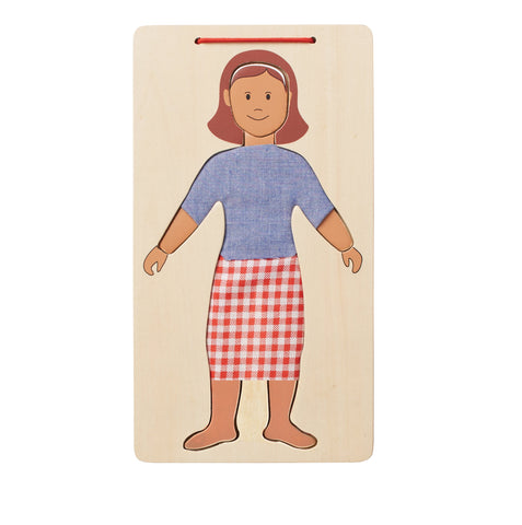 FASHION PLATE Wood Dress Up Set