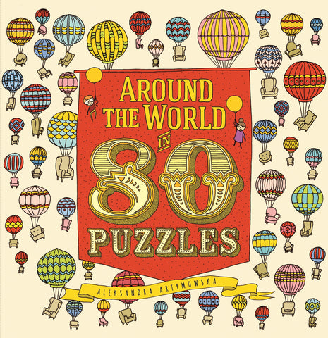 AROUND THE WORLD IN 80 PUZZLES - Discovery Toys