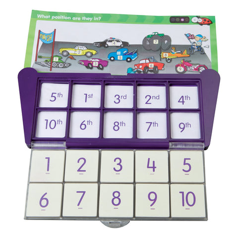 THINK IT THROUGH Learning Tiles Case - Discovery Toys