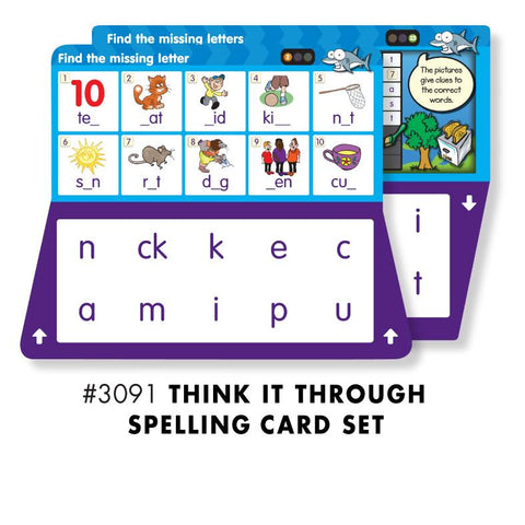 THINK IT THROUGH SPELLING Set - Discovery Toys
