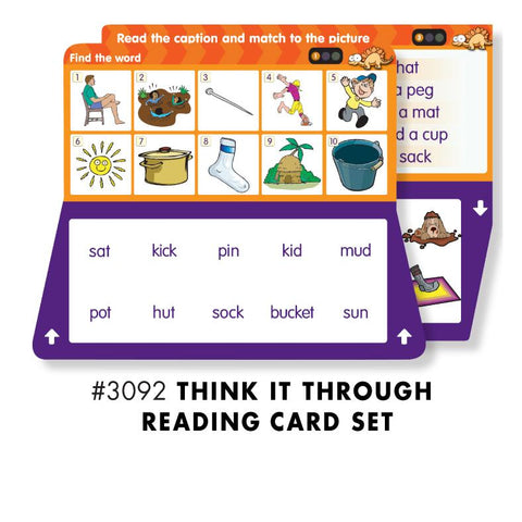 THINK IT THROUGH READING Set - Discovery Toys
