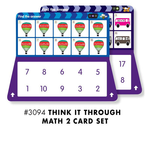 THINK IT THROUGH MATH 2 Set - Discovery Toys