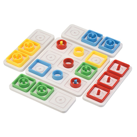 TRIPLE PLAY Shapes Game