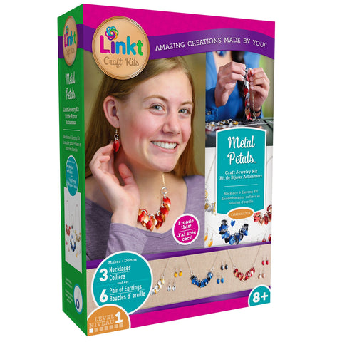 LINKT METAL PETALS Craft Jewelry Kit - Discovery Toys
