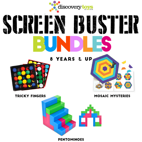 SCREEN TIME BUSTERS 8 Years+