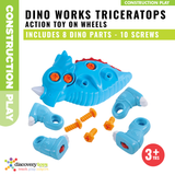 DINO WORKS - TRICERATOPS DIY Take-Apart