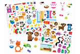 COLORFORMS® PICTURE PLAYSET PETS