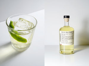 Clear milk punch