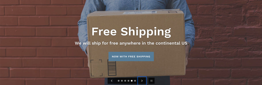 Introducing Free Shipping