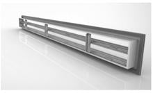 Linear Diffuser with 3/4