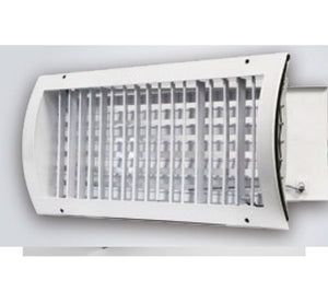 Supply Grilles - Curved, Direct to Pipe