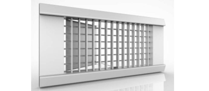 Extruded Aluminum Rectangular Supply Grilles