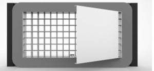 EVAS - Aluminum Supply Flat Grilles - Direct to Duct