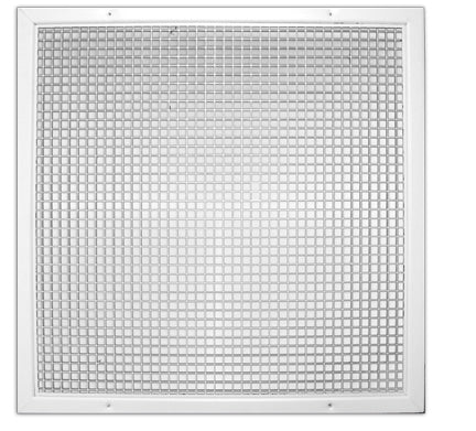Plastic Return Grille with Aluminum Frame