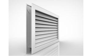 Privacy V-shaped Return Grilles