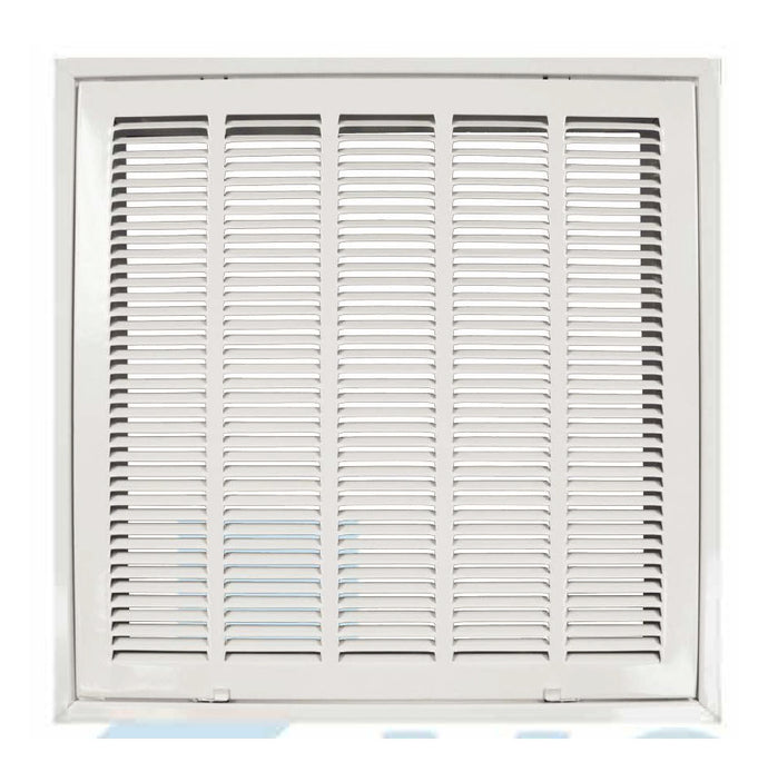 Steel Stamped Return Grille with Insulation