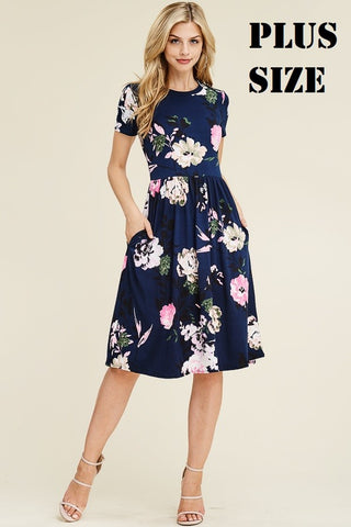Buttery Soft Floral Dress