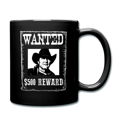 Wanted - Reward - Coffee Mug - black