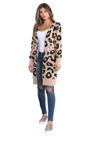 The Cheri Leopard Cardigan