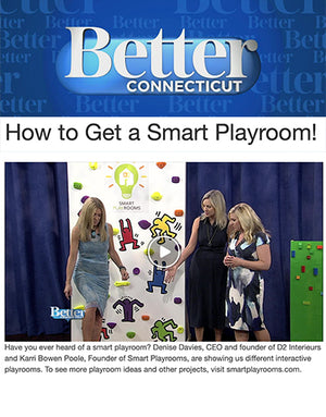 Better Connecticut Featuring Smart D2 Playroom Design Team