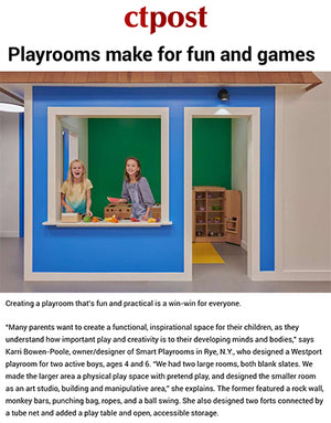 Connecticut Post Magazine Highlights Smart D2 Playrooms