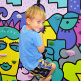 Kids Indoor Climbing Ropes with Knots - Smart D2 Playrooms