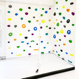 Smart Rock Wall Holds (White) - Smart D2 Playrooms