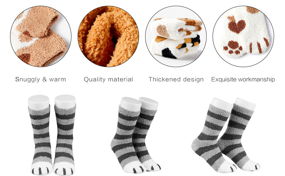 cat paw socks for humans catyfy large cats