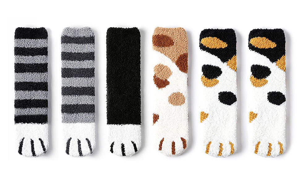 cat paw socks for humans catyfy large cats cute fun