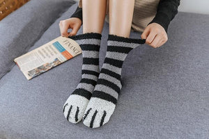 Pair of Cat Paw Socks - Catyfy