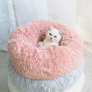 Cozy Plush Cat Bed - Catyfy