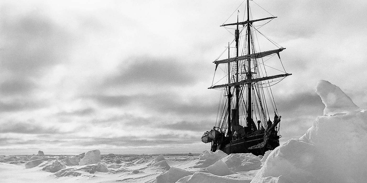 Sir Ernest Shackleton's Arctic Voyage serves as one of our Inspirations