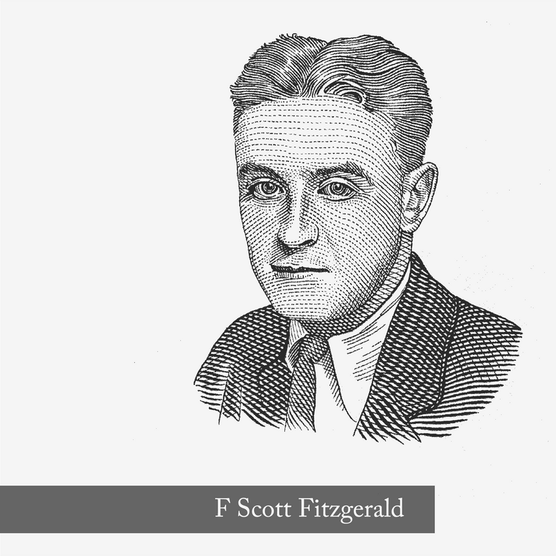 F Scott Fitzgerald - the inspiration for North Shore by Edenbridge Fragrances