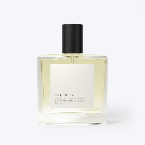 North Shore - a fragrance inspired by the life and work of F Scott Fitzgerald and his creation Gatsby.