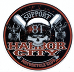 Sticker Support Harbor City