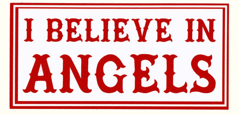Sticker - believe in Angels