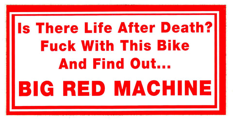 Sticker - Big Red Machine